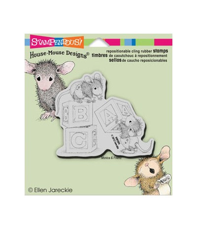 Stampendous Cling Stempel Baby Block