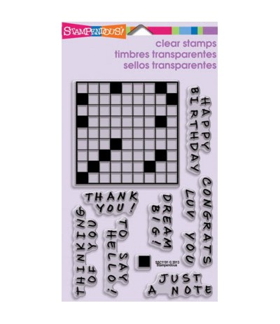 Clear Stamps Crosswords