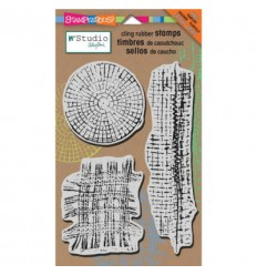 Stampendous Cling Stempel Mish Mesh