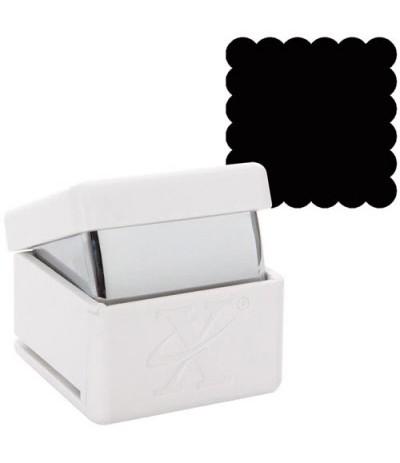 "3/4"" Quadrat-Stanzer Scalloped 1.9 cm"
