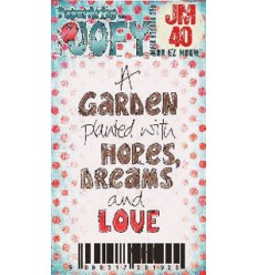 Jofy Mini Stempel A Garden planted...