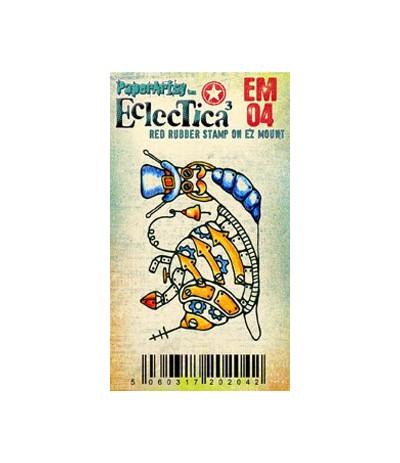 Paper Artsy EclecTica Mini Stempel Schnecke