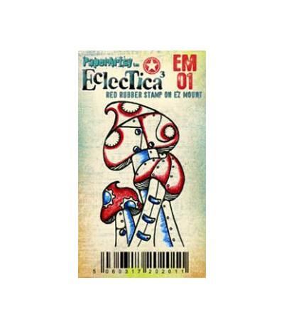 Paper Artsy EclecTica Mini Stempel Pilze
