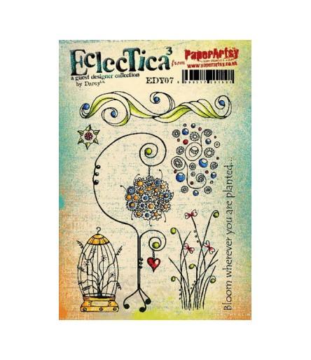 Paper Artsy EclecTica Stempelplatte Bloom wherever