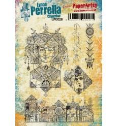 Paper Artsy Lynne Perrella Stempelplatte