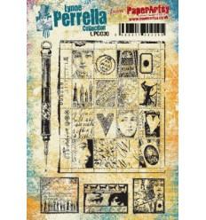 Paper Artsy Lynne Perrella Stempelplatte Marken