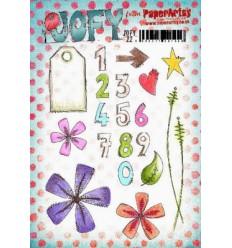 Jofy Stempelplatte Zahlen