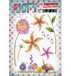 Jofy Stempelplatte Blumen
