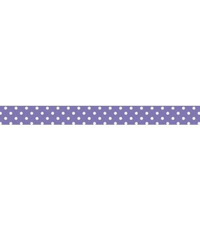 Washi Tape Lilac mit weissen Punkten
