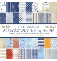 Maja Design Scrapbook Papier Life by the Sea Stack 6""