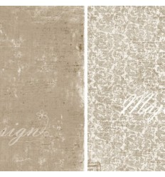 Maja Design Scrapbook Papier Vintage Summer Basics 12""