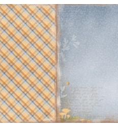"""Maja Design Scrapbook Papier Walking in the forest 12"""""""