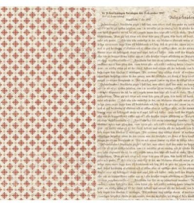 "Maja Design Scrapbook Papier It's Christmas time 12"""