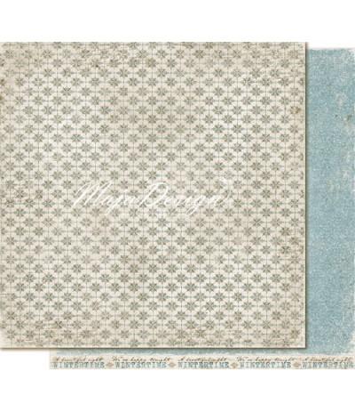 "Maja Design Scrapbook Papier Vintage Frost Basics 12"""