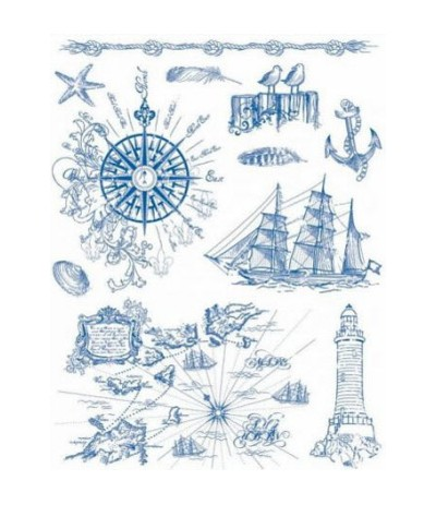 Viva Decor Clear Stamps At the Seaside