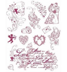 Viva Decor Love Clear Stamps