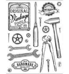 Viva Decor Vintage Clear Stamps Tools