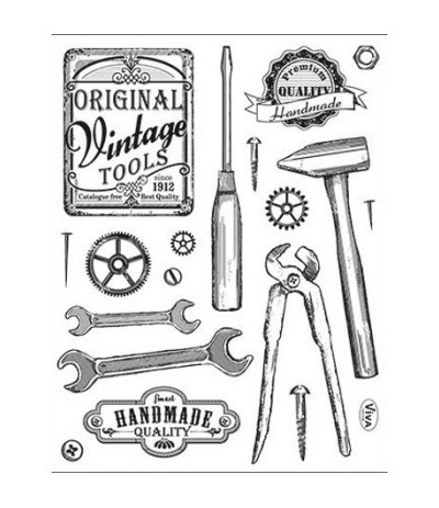 Viva Decor Vintage Clear Stamps Tools