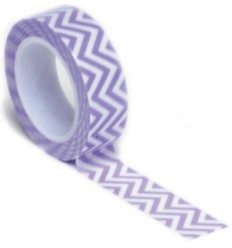Washi Tape Chevron Purple
