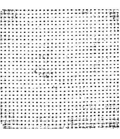 "Impression Obsession 5.75"" Cling Mount Stempel Distress Dots"