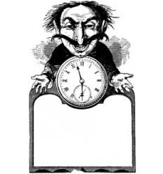 Uhrenmann Stempel
