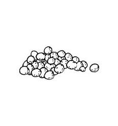 Schneebälle Stempel