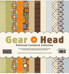 Gear Head Cardstock 12x12""