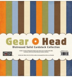 "Gear Head Solid Cardstock 12"" x 12"""