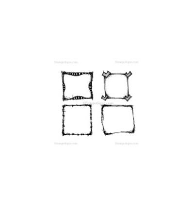 Stampotique Stempel Stempel Calendar Squares Cube