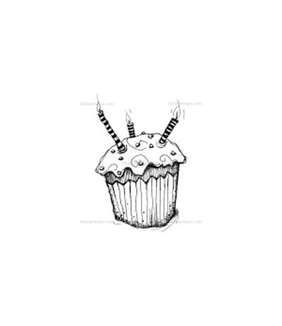 Stampotique Stempel Geburtstagskuchen