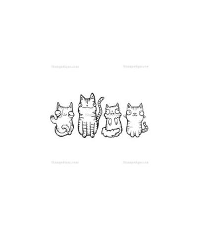 Stampotique Stempel Katzen