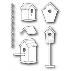 Memory Box Stanzschablone Birdhouse Village