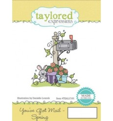 Taylored You've Got Mail - Spring Cling Stempel
