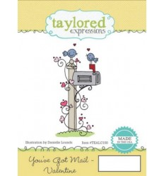 Taylored You've Got Mail Valentine Cling Stempel