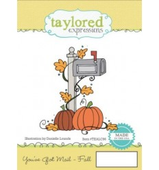 Taylored Cling Stempel You've Got Mail - Fall