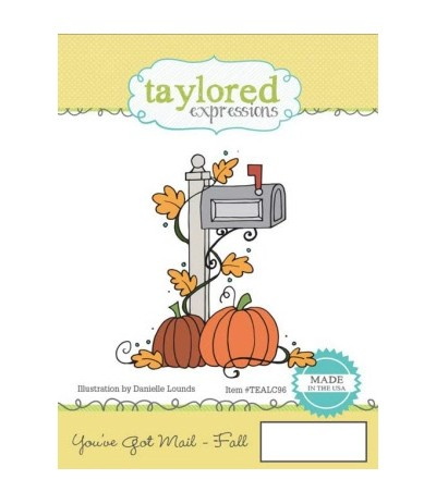Taylored You've Got Mail - Fall Cling Stempel