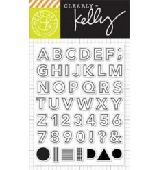 Hero Arts Alphabet Clear Stempel Set