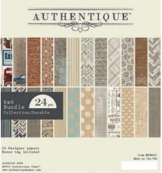 Authentique Scrapbooking Papier Durable 6x6