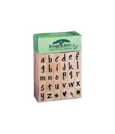 Alphabet Stempel Set Kleinbuchstaben