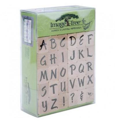 Alphabet Stempel Set Grossuchstaben