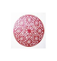 Embossing Pulver Rot Pearl 20g