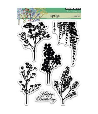 Penny Black Clear Stamps Springs