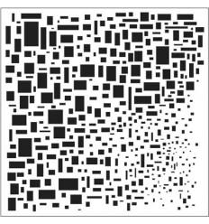 """TCW 6x6"""" Schablone Cubist"""