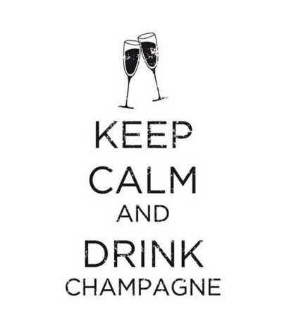 Artemio Stempel Keep Calm And Drink Champagne