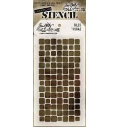 Tim Holtz Stencil/Schablonen Tiles