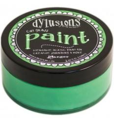 Dylusions Paint Cut Grass