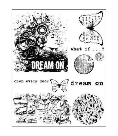 Finnabair Cling Stempel Dream On