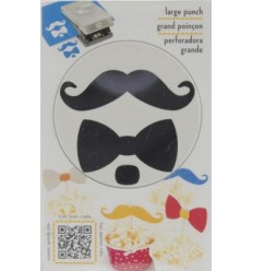 EK Success Motivstanzer Bow & Mustache