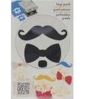 EK Success Motivstanzer Bow & Mustache