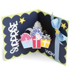 Sizzix Stanzschablone 3D Surprise/Geschenke Karte